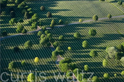 Aerial Photo of Milwaukee VA Cemetary
